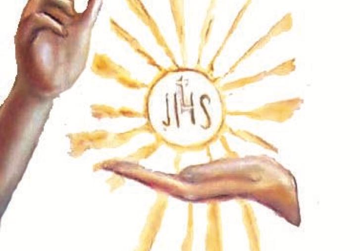 Rendiamo lode e grazie all'Amore Eucaristico, Gesù!